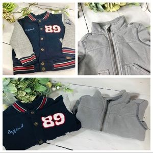 Lee and Old Navy Boys Fleece Jacket 18-24 months